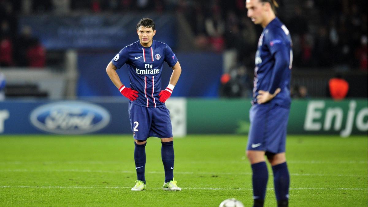 Thiago Silva - Zlatan Ibrahimovic