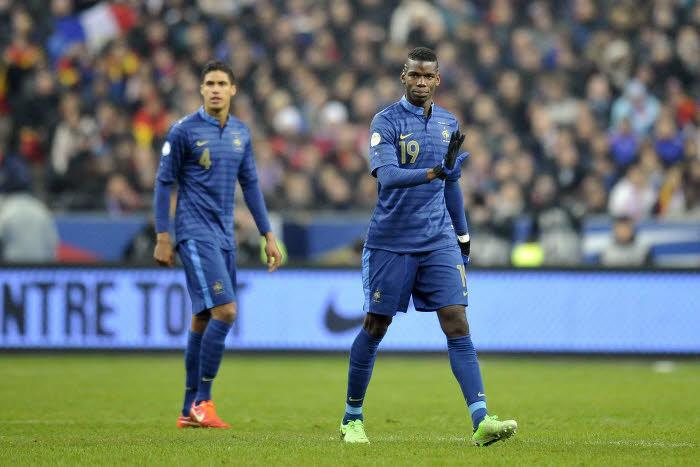 Paul Pogba & Raphael Varane, France
