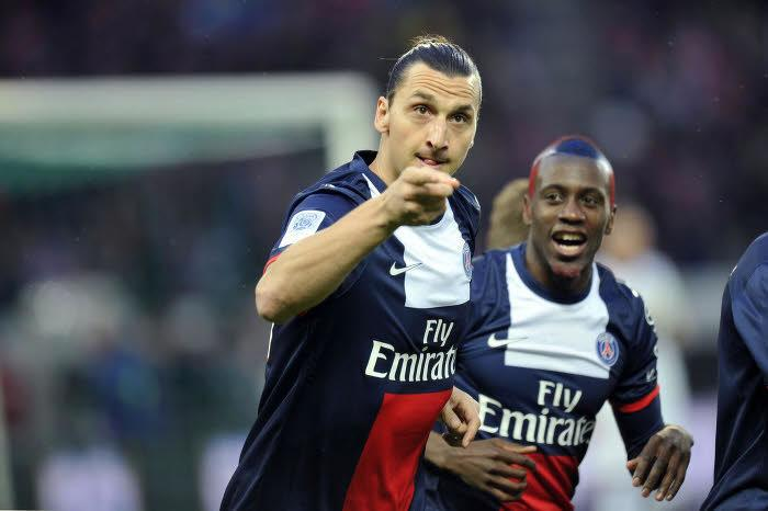 Zlatan Ibrahimovic, Blaise Matuidi, PSG