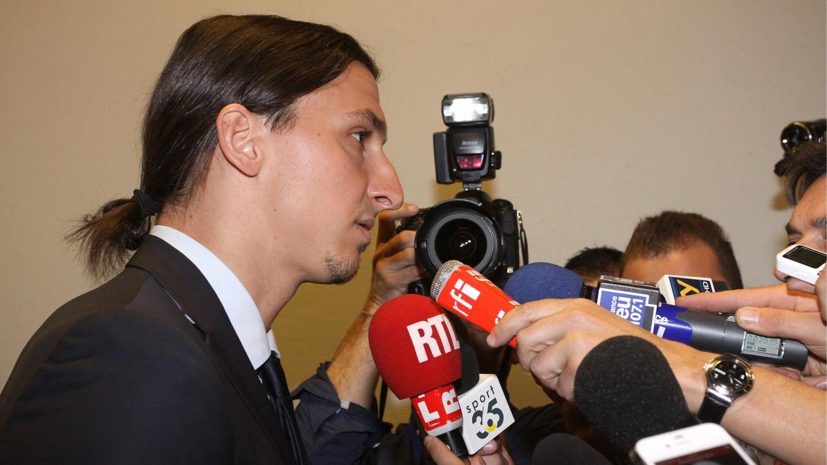 PSG - Zlatan Ibrahimovic s