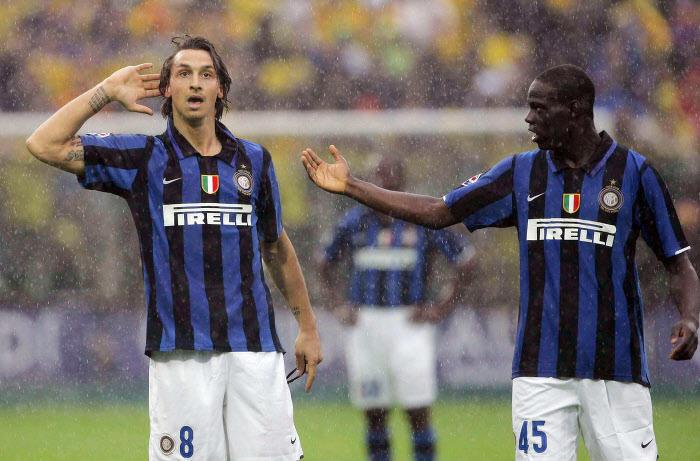 Zlatan Ibrahimovic & Mario Balotelli