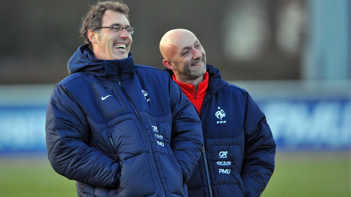 Laurent Blanc - Fabien Barthez