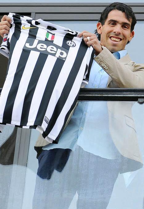 Carlos Tevez, Juventus