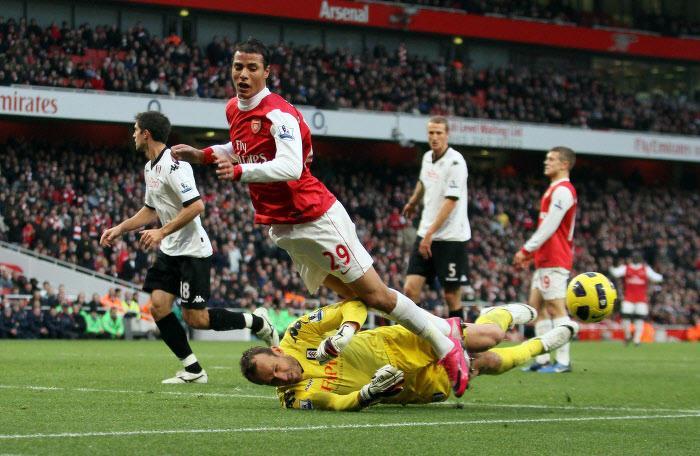 Marouane Chamakh, Arsenal