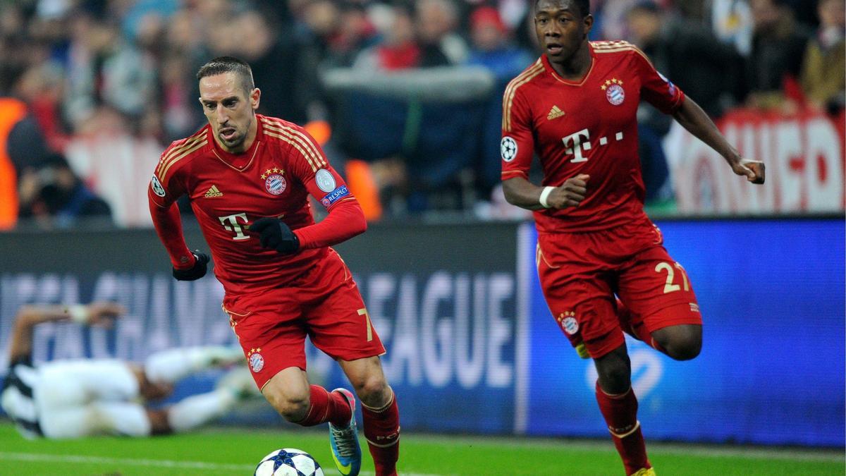 Franck Ribéry et David Alaba