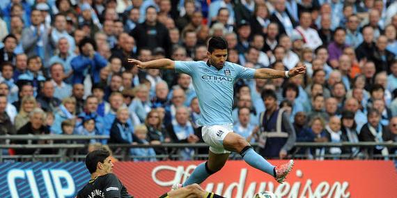 Sergio Agüero, Manchester City