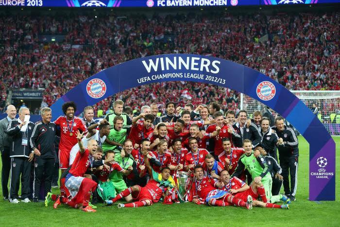 Le Bayern Munich, champion 2013
