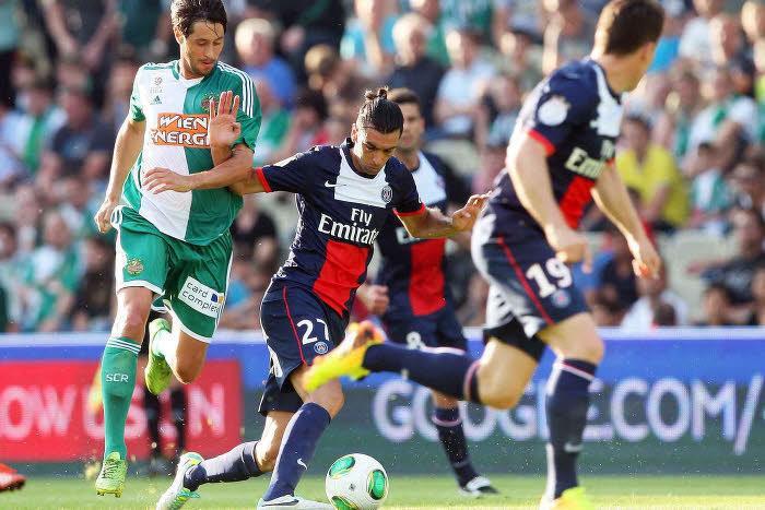 Rapide Vienne 1-2 Paris Saint Germain : Le PSG s'offre sa première victoire de la saison