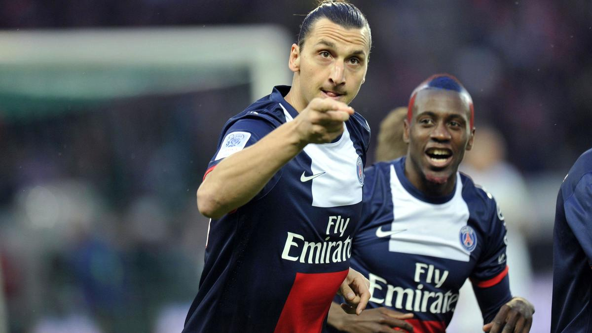 Zlatan Ibrahimovic & Blaise Matuidi, PSG