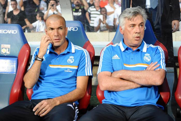 PSG/Madrid : Le groupe de Carlo Ancelotti
