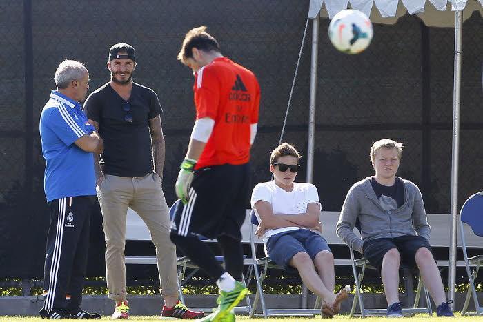 Real Madrid : Beckham aimerait attirer Cristiano Ronaldo en MLS