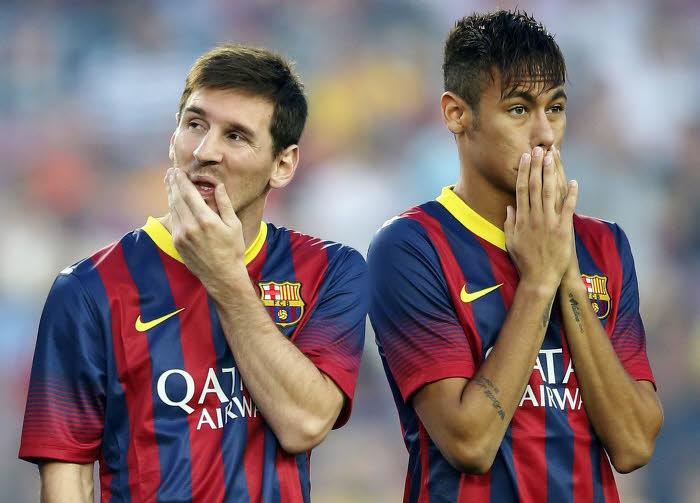 Messi & Neymar, Barcelone
