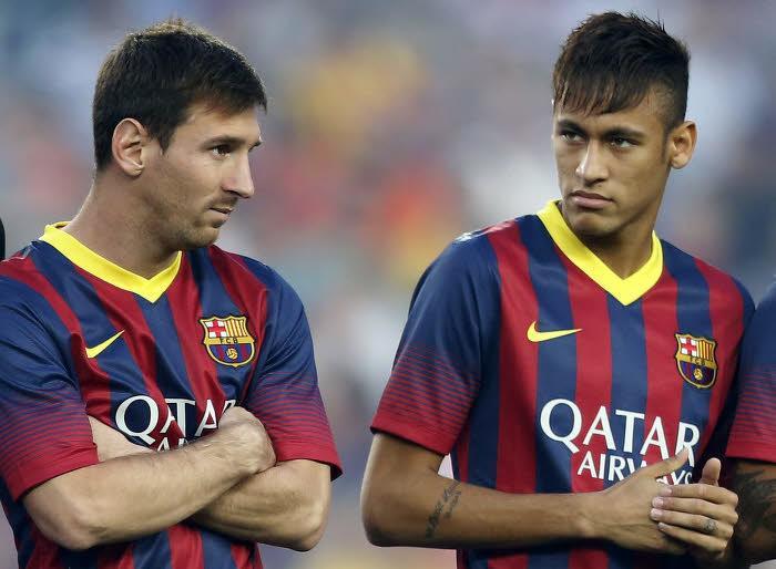 Lionel Messi, Neymar, FC Barcelone