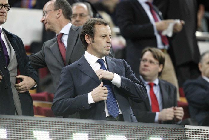 Sandro Rosell, FC Barcelone