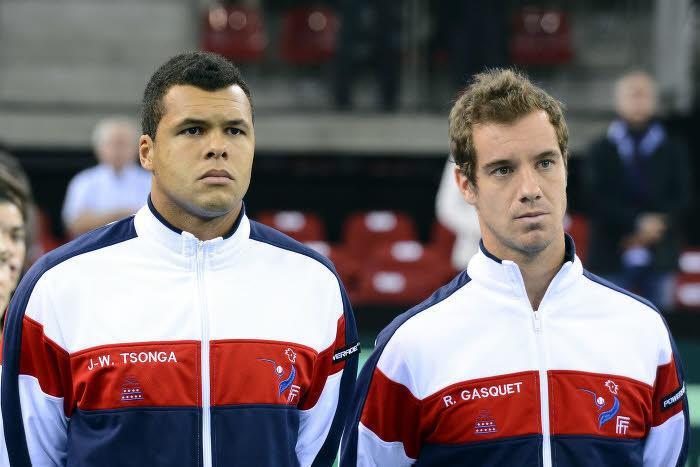 Jo-Wilfried Tsonga et Richard Gasquet, France