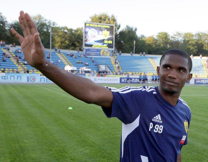 Samuel Eto'o, Anzhi
