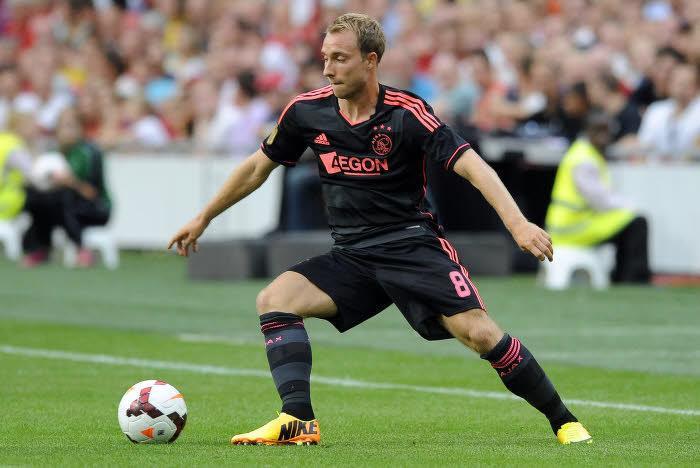 Christian Eriksen, sous les couleurs de l'Ajax