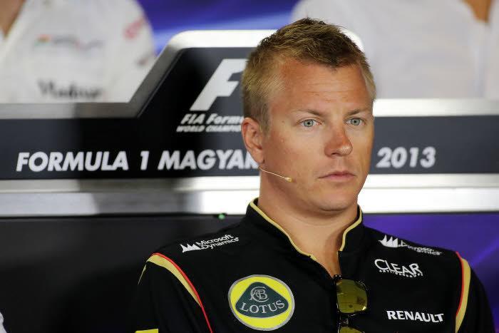 Raikkonen, sous les couleurs de Lotus