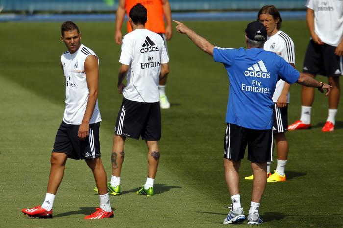 Karim Benzema & Carlo Ancelotti, Real Madrid