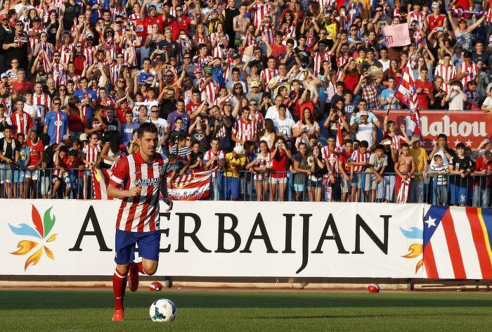 David Villa, Atletico Madrid