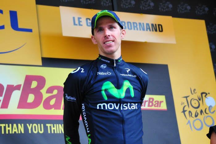 Rui Costa, sur le Tour de France 2013 avec la Movistar