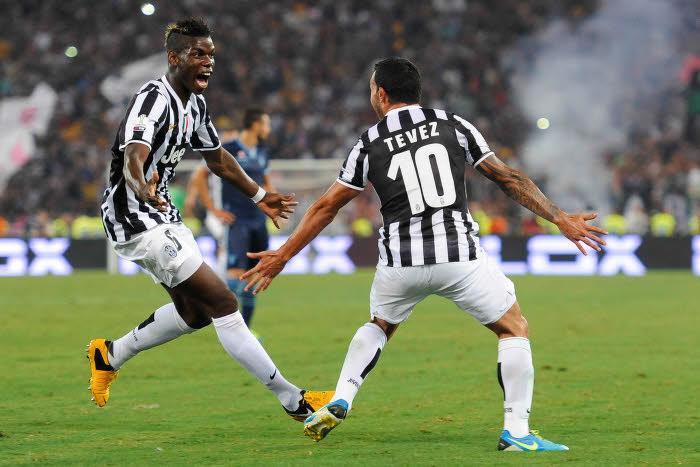 Tevez, Pogba, Juventus