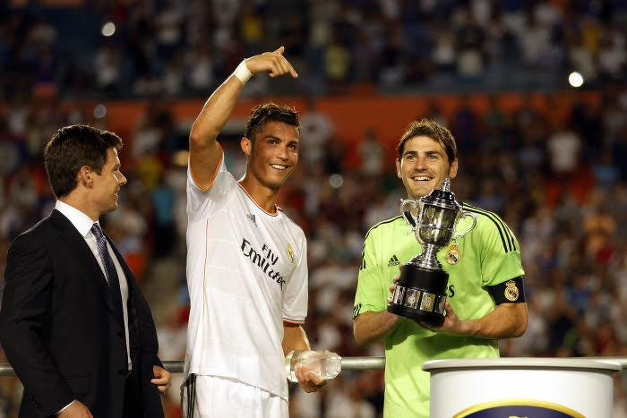 Cristiano Ronaldo et Iker Casillas, Real Madrid