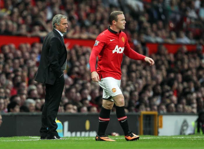 José Mourinho & Wayne Rooney