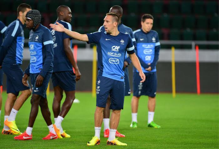 Équipe de France : «Ribéry peut être notre Cristiano Ronaldo»