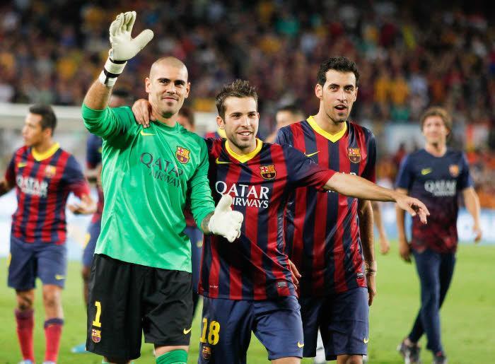 Victor Valdés est sur le départ du FC Barcelone
