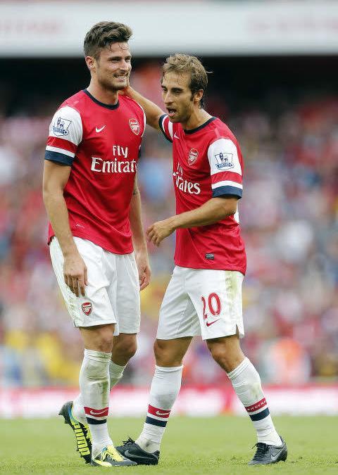 Olivier Giroud & Mathieu Flamini, Arsenal