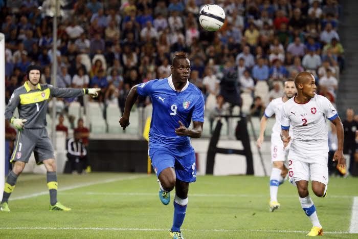 Mario Balotelli, Italie