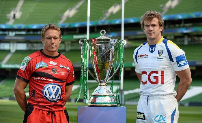 Johnny Wilkinson et Aurélien Rougerie