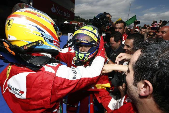 Fernando Alonso et Felipe Massa, Ferrari