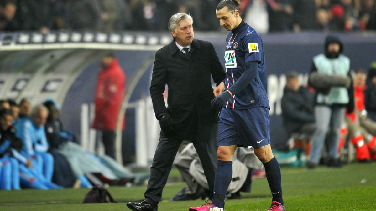 Ibrahimovic - Ancelotti
