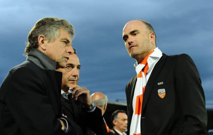 Christian Gourcuff et Loïc Féry, FC Lorient