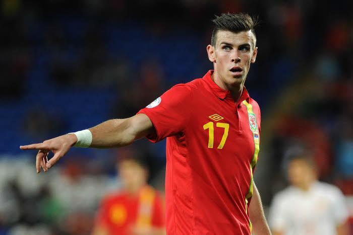 Gareth Bale, sous le maillot du Pays de Galles