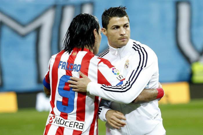 Radamel Falcao, Cristiano Ronaldo