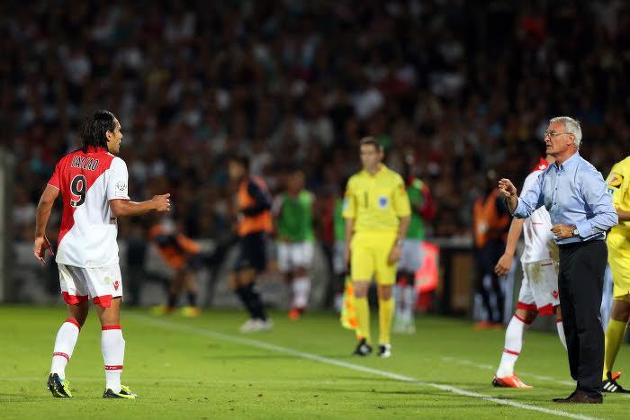Claudio Ranieri, AS Monaco, Falcao