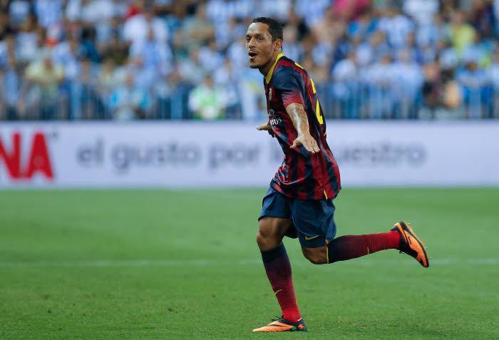 Adriano, FC Barcelone