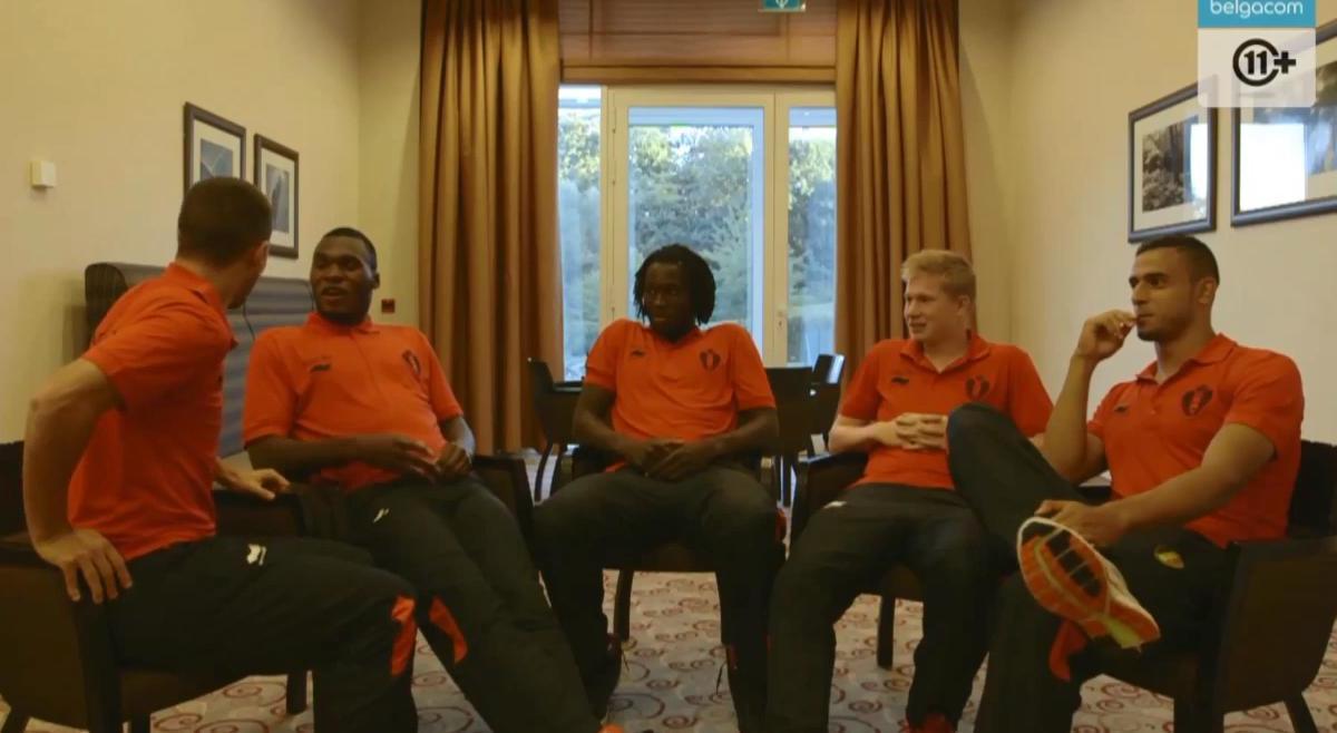 Vidéo : Hazard, Benteke et Lukaku se lâchent