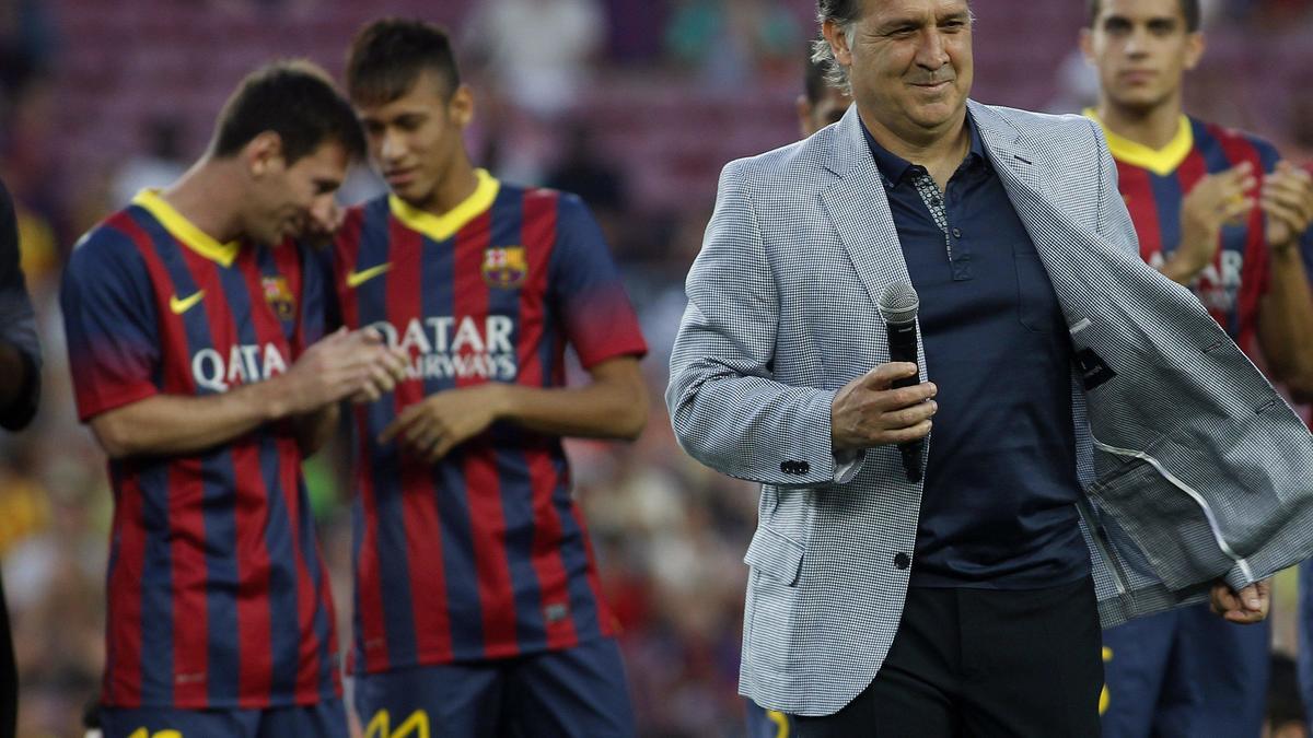 Tata Martino, Lione Messi et Neymar