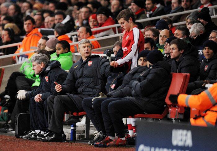 Arsène Wenger et Jack Wilshere, en 2008