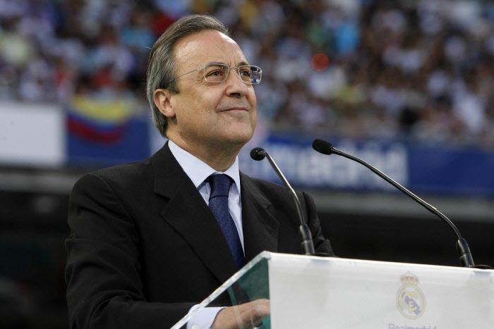 Florentino Pérez, Real Madrid