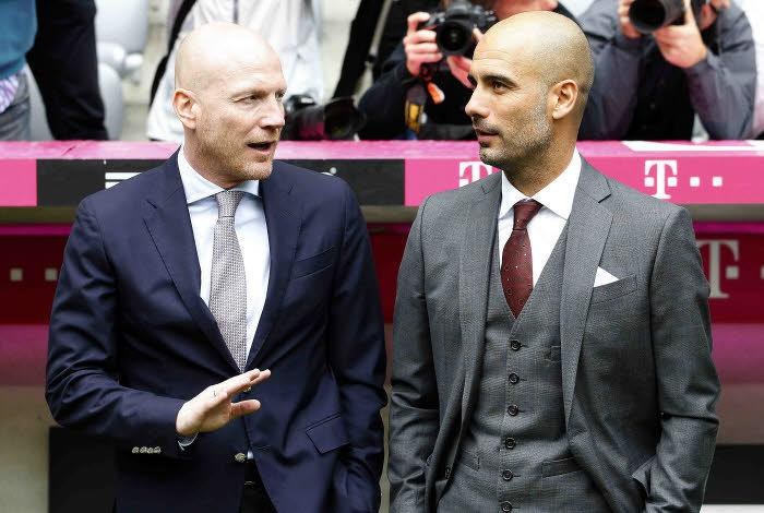 sammer, Guardiola, bayern munich