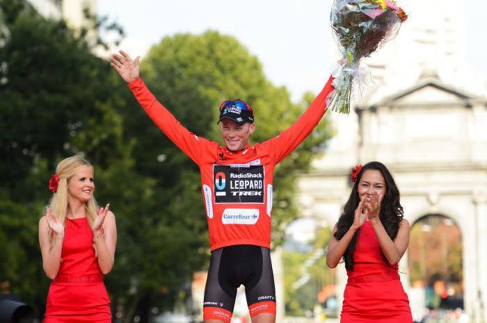 Christopher Horner, vainqueur de la Vuelta