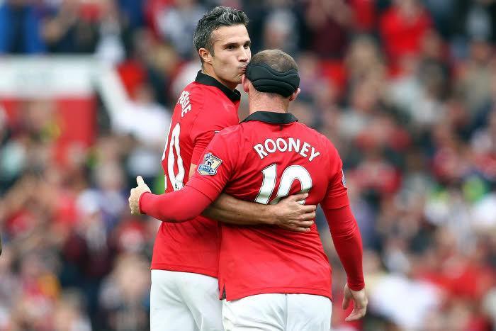 Rooney, Van Persie, Manchester United