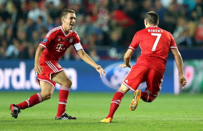Philipp Lahm et Franck Ribéry, Bayern Munich
