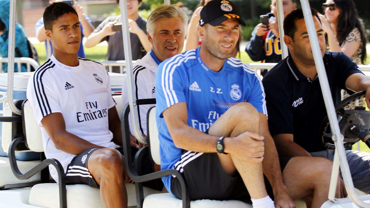 Real Madrid : Varane évoque Ancelotti et Mourinho