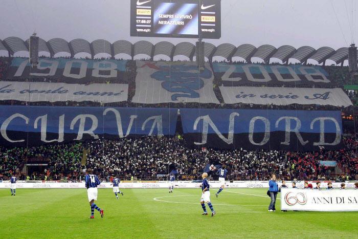 Curva Nord, Inter